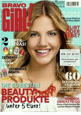 Subscription Bravo Girl! magazine