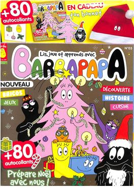 Abonnement Barbapapa magazine