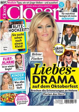 Abonnement Closer (Deutsche Version) magazine
