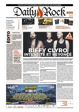 Abonnement Daily Rock magazine