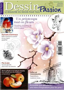 Abonnement Dessin Passion magazine