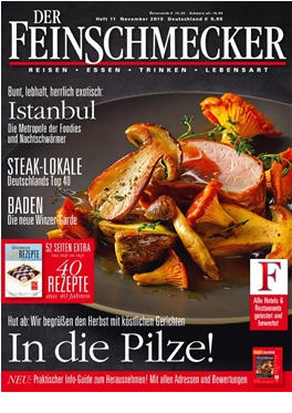 Subscription Der Feinschmecker magazine