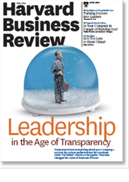 Abonnement Harvard Business Review magazine