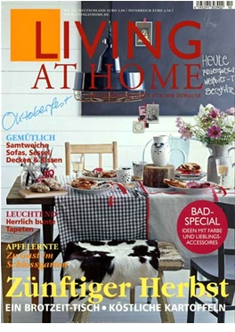 Abonnement Living at Home magazine