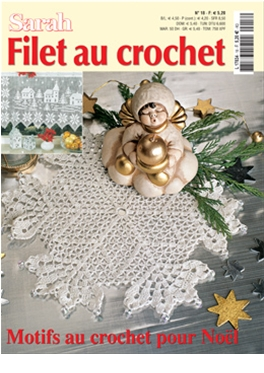 Abo Sarah Filet au Crochet magazin