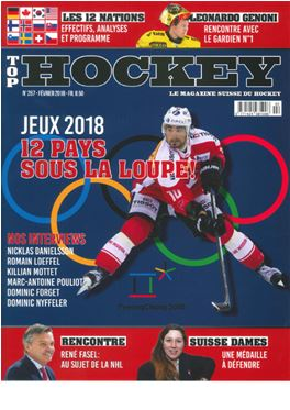 Abonnement Top Hockey magazine