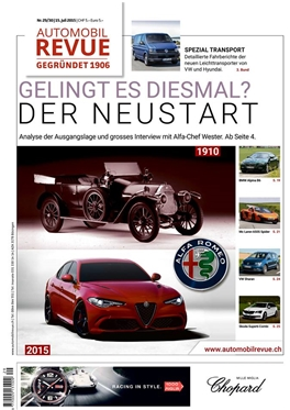 Subscription Automobil Revue magazine