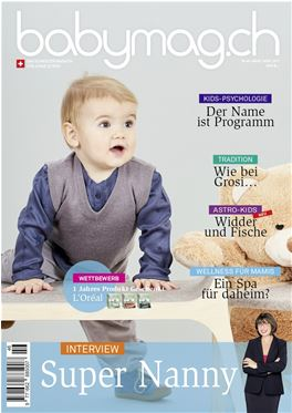 Abo Babymag.ch (Deutsche Version) magazin