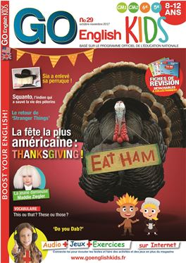 Abonnement Go English! Kids magazine