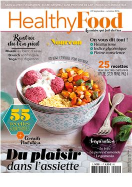 Abonnement Healthy Food magazine