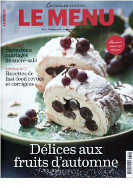 Abonnement Le Menu magazine