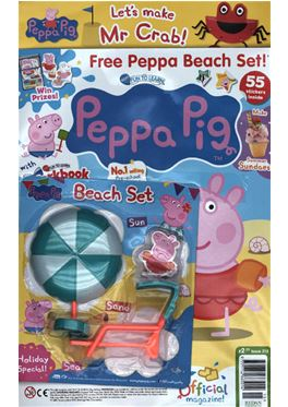 Abonnement Peppa Pig Fun to learn magazine