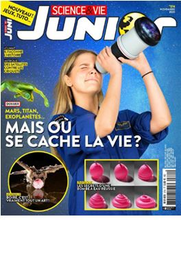 Abonnement Science & Vie Junior magazine