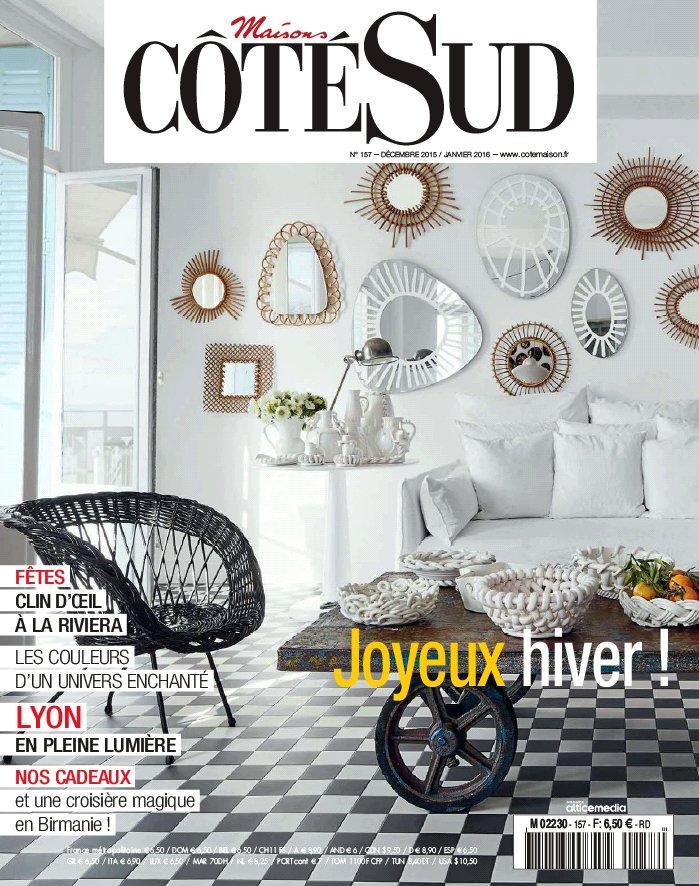 Abonnement magazine maisons cot sud dynapresse for Maison magazine abonnement
