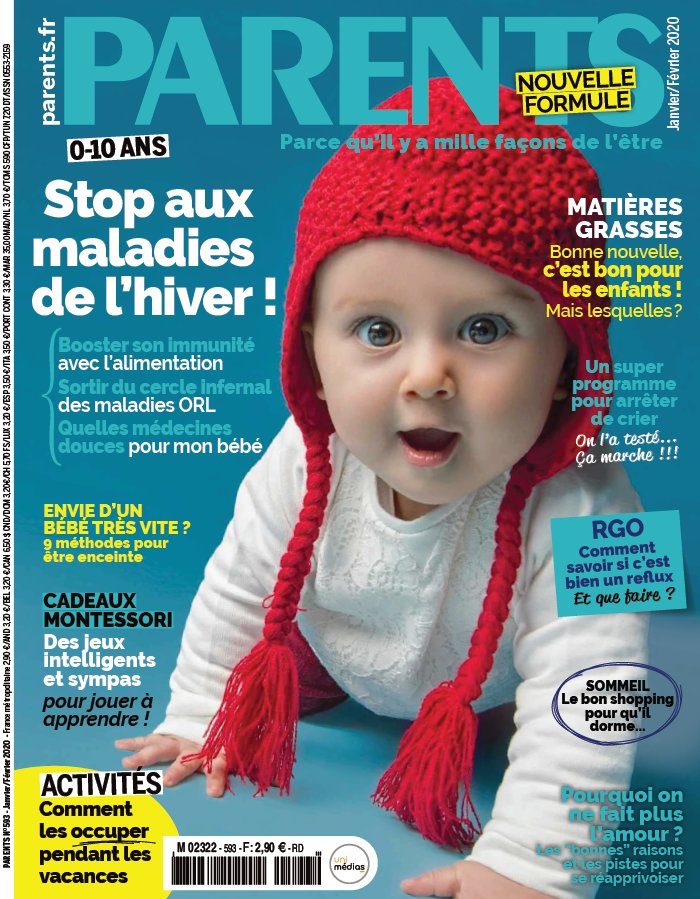 Abonnement Parents magazine