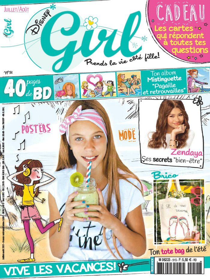 abonnement disney girl magazine. Black Bedroom Furniture Sets. Home Design Ideas
