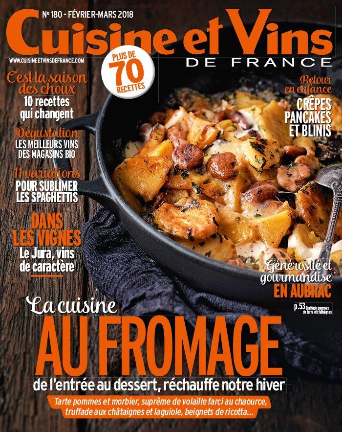 Abonnement cuisine et vins de france magazine for Abonnement cuisine et vins de france