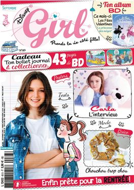 Abonnement Disney Girl magazine