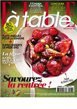 Abo Elle à table magazin