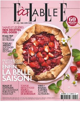Abonnement Elle à table magazine