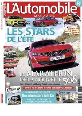 Abonnement L'Automobile Magazine magazine