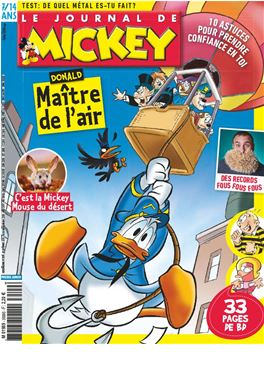 Abonnement Le Journal de Mickey magazine